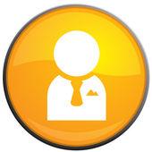 Użytkownik wektor witryny ikona — Wektor stockowy