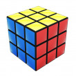 Colorful cube puzzle - Stock Photo