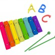 Stock Photo: Wooden xylophone