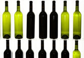 Some bottles of wine — Stock Photo