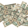 Currency dollar finances background — Stock Photo