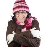 Christmas cold girl — Stock Photo #1205161