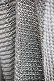 Chain mail armour background — Stock Photo