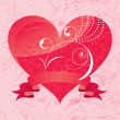 Royalty-Free Stock Vector Image: Valentine\'s day card.