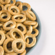 Foto de Stock  : Heap of bread ring