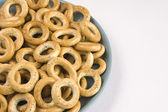 Heap of bread ring — Foto Stock