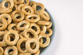 Mucchio di anello di pane — Foto Stock