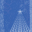 Royalty-Free Stock Vektorgrafik: Christmas card