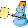 Royalty-Free Stock Immagine Vettoriale: Snowman