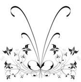 Decorative flowers. — Stock Vector