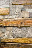 Stone and wooden textures — Stock Photo