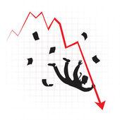 Crisis — Stock Vector