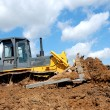 Royalty-Free Stock Photo: Bulldozer in action