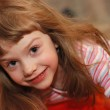 Cheerful smiling little girl — Stock Photo