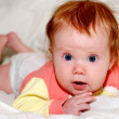 Baby with wide open eyes — Stock Photo #1036649