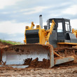 Heavy bulldozer — Stock Photo