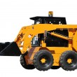 Skid steer loader bulldozer — Stock Photo