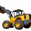 Five-ton wheel loader buldozer — Foto Stock