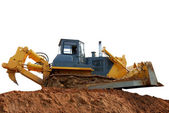 Heavy bulldozer with ripper — Stock Photo