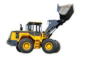 Five-ton wheel loader buldozer — Stock Photo