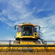 Royalty-Free Stock Photo: Combine in the field