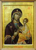 Icon of Budslav Mother of God and child — Foto de Stock