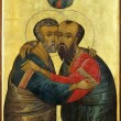 Icon of Apostles Peter and Paul — Stock Photo #1270333