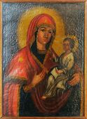Minsk icon of the Mother of God and Jesu — Stock Photo
