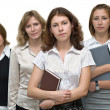 Female business team — Stock Photo