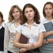 Female business team — Stock Photo