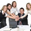 Teamwork and team spirit — Stock Photo