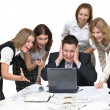 Business team surprised — Stock Photo #1033023