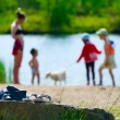 Children on the beach — Stock Photo #1033256
