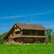 Royalty-Free Stock Photo: Wooden big house