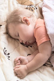 Sleeping baby — Foto Stock