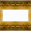 Royalty-Free Stock Photo: Golden thick frame
