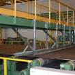 laminati produzione lamiera su metallo ferroso — Foto Stock