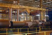 Breech production on ferrous metallurgy — Stock Photo