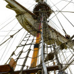 Mast of ship — Stock Photo #1056411