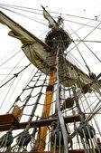 Mast of ship — Stock Photo