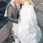 Loving newlywed — Stock Photo