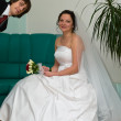 Newlywed young couple — Lizenzfreies Foto