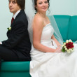 Loving wedding couple — Stock Photo #1243756