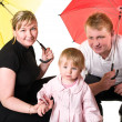Picture of happy young family — Stock Photo #2431366