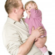 Happy father and child — Stock Photo