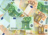Efectivo en euros — Foto de Stock