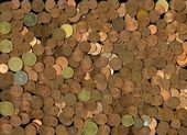 Cents / Coins — Foto Stock