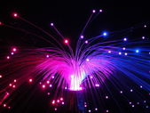 Color fiber optics abstract — Stock Photo