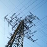 Voltage tower — Stock Photo