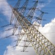 Stock Photo: Voltage tower